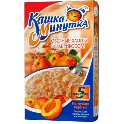 "Oat Flakes ""Kasha Minutka"" with Apricots"