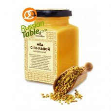 "Honey ""Silameda"" with Bee Pollen 300gr"