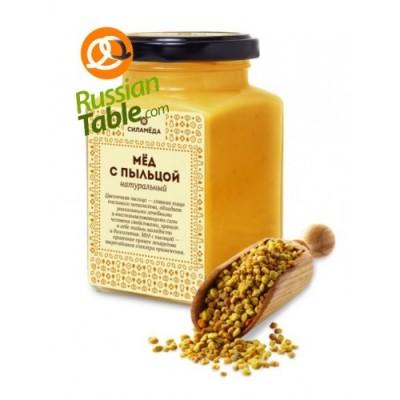 "Honey ""Silameda"" with Bee Pollen 300gr"
