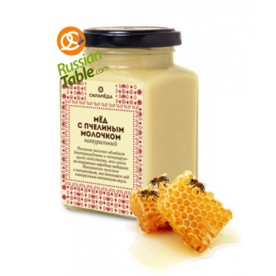 """Honey """"Silameda"""" with Royal Jelly 300gr"""