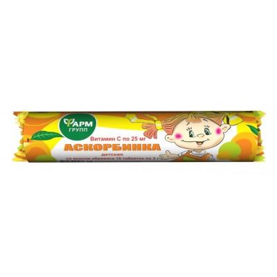 Ascorbic acid (apricot taste) 25 g