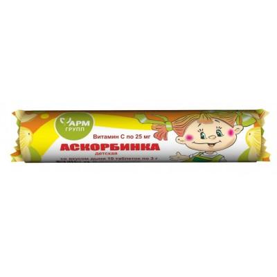 Ascorbic acid (melon taste) 25 g