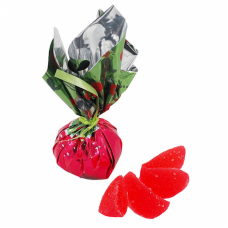 Cranberry flavored jelly candies 1 Lb