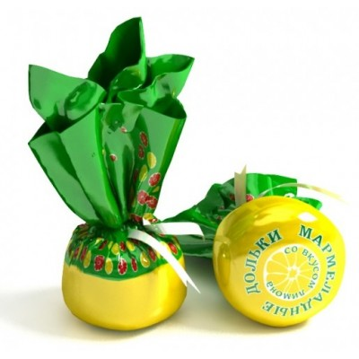 Lemon flavored jelly candies 1.2 kg