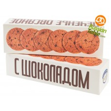 """Oatmeal Cookies """"Polet"""" with Chocolate Chips 250g"""