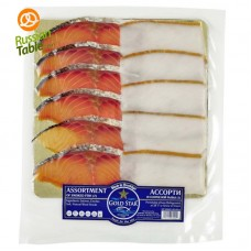 Assorted Smoked Fish (Salmon, Turbot) 227gr