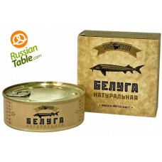 "Beluga (European Sturgeon) ""Sk Fish"" in own juice 240g"