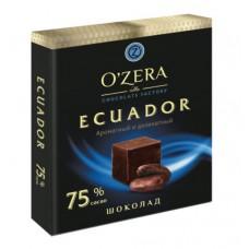 """Chocolate """"O'Zera Ecuador"""" 75% Cocoa (90g)"""