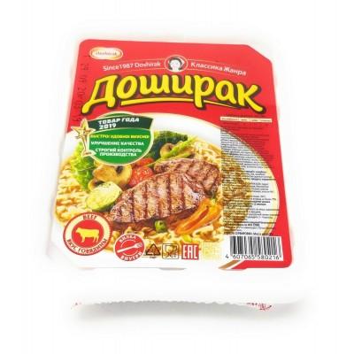 Doshirak Noodle Soup  Hot & Spicy Beef flavor