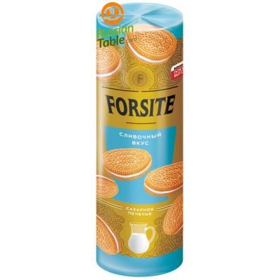 "Sugar Cookies ""FORSITE"" with Creamy cream taste 208g"