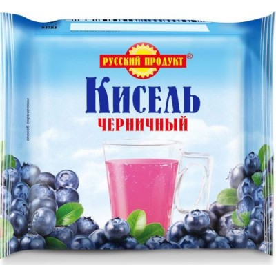 """Kissel """"Russian product"""" Blueberry"""