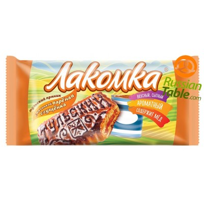 "Tula Gingerbread ""Lakomka"" with condensed milk 130g"