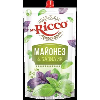 MR.RICCO MAYONNAISE W/BASIL 390GR