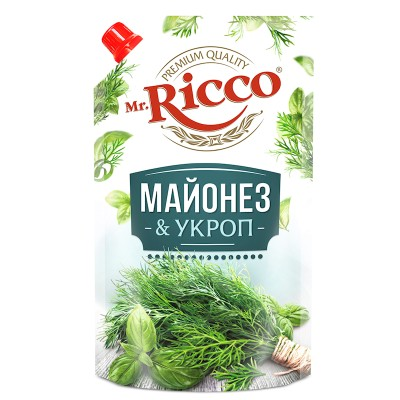 MR.RICCO MAYONNAISE W/DILL 390GR