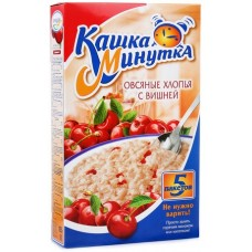 "Oat Flakes ""Kasha Minutka"" with Cherry"