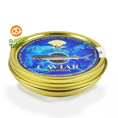 "Premium Quality Sturgeon Caviar ""Black Pearl"" 100g"