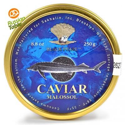"Premium Quality Sturgeon Caviar ""Black Pearl"" 250g"