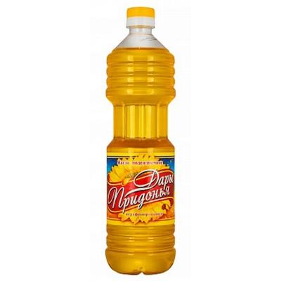 """Dary Pridoniya"" unrefined Sunflower oil"