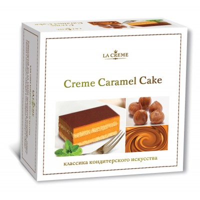 "Cake ""La Creme"" Cream Caramel"