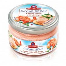 "Caviar cream ""Santa Bremor"" capelin caviar with shrimps"