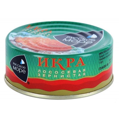 "Salmon caviar ""Russkoe More"" 100g"