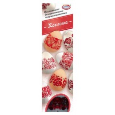 "Easter Decorative Thermal Labels ""Khokhloma"""
