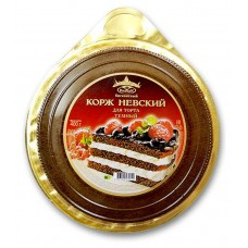 "Dark Cake Layers ""Nevsky"" biscuit"