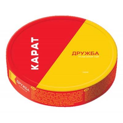 "Processed cheese ""Druzhba"" (8 pc) 140g"
