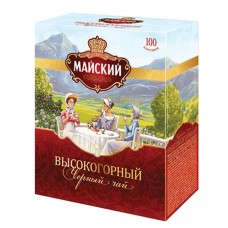 "Black tea ""May"" High mountain (100 count)"