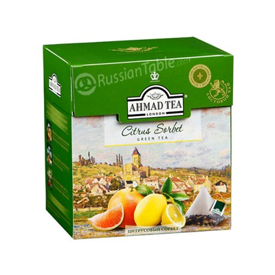 "Ahmad Green Tea ""Citrus Sorbet"" Grapefruit & lemon"