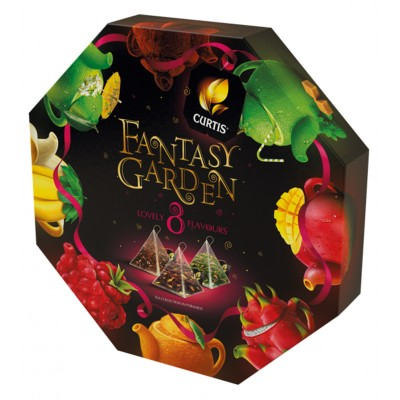 "Tea ""Curtis"" Fantasy Garden assorted (40 count)"