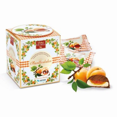 "Sweets ""Marillen Taler"" apricot filling and delicate marzipan cream, covered with finest dark chocolate 175g"