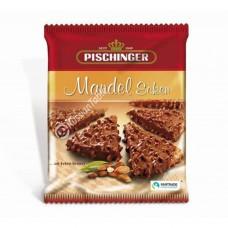 """Crispy wafer slices """"Pischinger"""" Mandel Ecken milk chocolate & almonds 130g"""