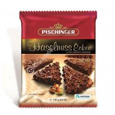 """Crispy wafer slices """"Pischinger"""" Haselnuss Ecken Noir dark chocolate & hazelnuts 130g"""