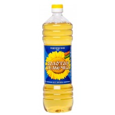 "Sunflower oil ""Golden Seed"" Unrefined 1L"