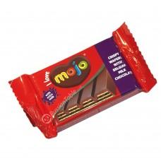 """Crispy wafer """"Mojo"""" in milk chocolate"""