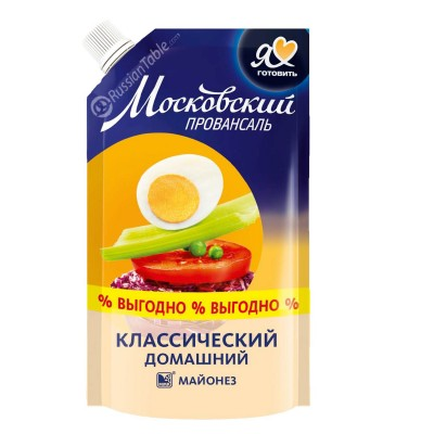 "Mayonnaise ""Moscow Provansal"" Homestyle"