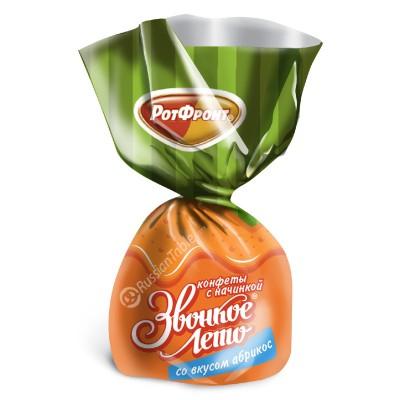 "Sweets ""Zvonkoye leto"" apricot flavor"