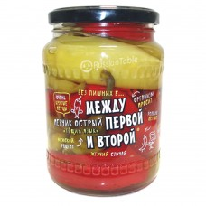 "Hot Pepper ""Teshchin yazyk"" Pickled 680g"
