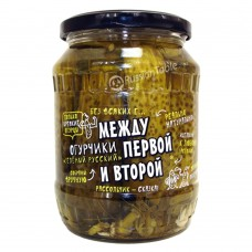 "Cucumbers pickled ""Green Russian"" 680g"