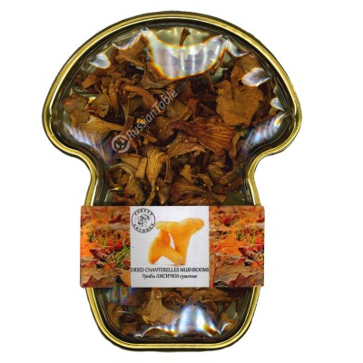"Dried Chanterelles mushrooms ""Forest Gourmet"""