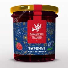 "Forest berries jam ""Davydov traditions"" 370 g"