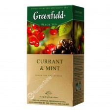 "Greenfield Black Tea ""Currant & Mint"" (25 count)"