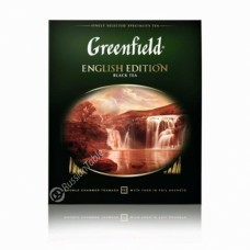"Greenfield Black Tea ""English Edition"" 100pak"