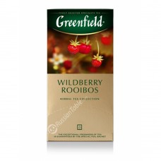 "Greenfield Herbal Tea ""Wildberry Rooibos"" 25 bags"