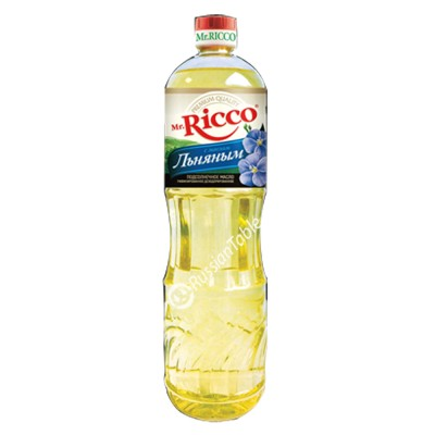 "Sunflower Oil ""Mr.Ricco"" with Flax seed oil (1L)"