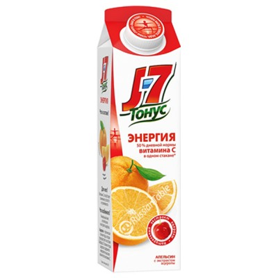 "Juice ""J7 Tonus"" Orange (Energy)"