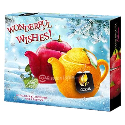 "Tea Collection ""Curtis"" Wonderful Wishes! New Year"