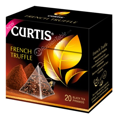 """Black tea """"Curtis""""  French Truffle (20 count)"""