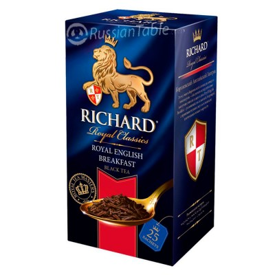 "Black tea ""Richard"" Royal English Breakfast (25 count)"